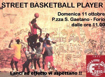 'STREET BASKETBALL PLAYER', APPUNTAMENTO DOMANI MATTINA IN PIAZZETTA SAN GAETANO