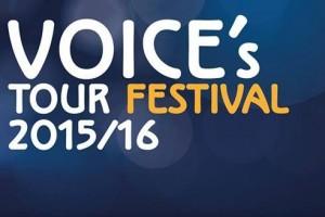 EVENTI, STASERA AL POLIFUNZIONALE QUARTA TAPPA DEL VOICE'S TOUR FESTIVAL