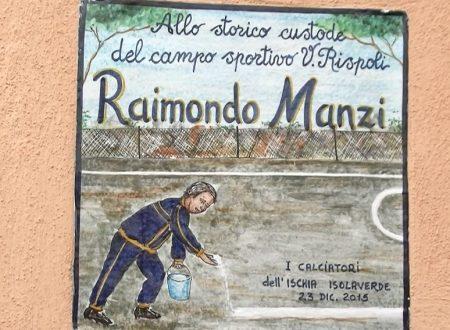 CALCIO, SCOPERTA AL RISPOLI UNA TARGA IN RICORDO DI RAIMONDO MANZI (VIDEO)