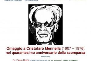 """""""OMAGGIO A CRISTOFARO MENNELLA"""", ISCHIA RICORDA IL CLIMATOLOGO ISOLANO"""