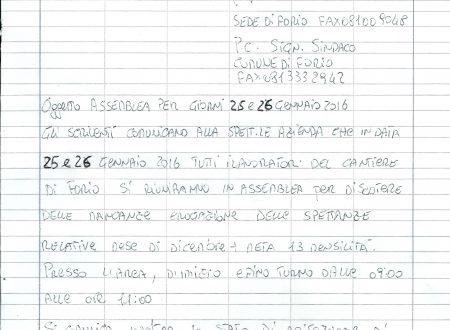 EGO ECO, DIPENDENTI IN STATO DI AGITAZIONE: CONVOCATA L'ASSEMBLEA