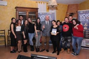 VOICE'S TOUR FESTIVAL, OTTAVA TAPPA A VALENTINA PIESCO